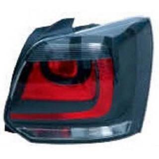 Achterlichten Volkswagen Polo 6R - Rood/Zwart