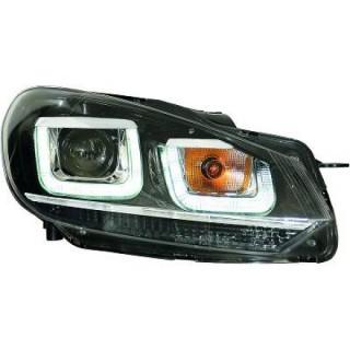 Koplampen met LED dagrijverlichting Vw Golf 6 2008-2012