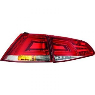 LED Achterlichten Volkswagen Golf 7 - Rood/Wit