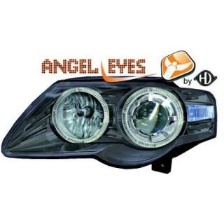 Angel eyes koplampen Volkswagen Passat B6 - Zwart