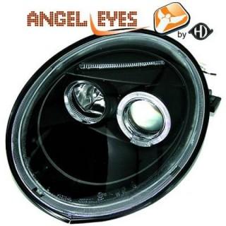 Angel eyes koplampen Volkswagen Beetle - Zwart