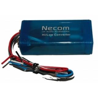 NECOM SIA-P30RM 2-kanaals High/Low converter