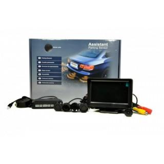 Parkeersensoren met LCD scherm en Camera model 1