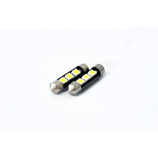 LED Buislampjes - 39mm met 3 SMD LEDS - CanBus