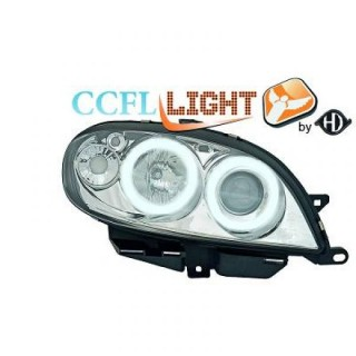 CCFL Angel eyes koplampen Citroen Saxo - Chroom