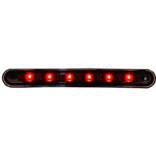 3e LED remlicht Peugeot 207 - Zwart