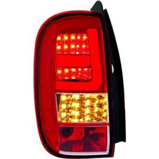 LED Achterlichten Dacia Duster - Rood/Wit