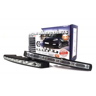 LED Dagrijverlichting 2x4 LEDS - 523HP Mini