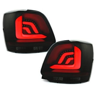 LED Achterlichten Vw Polo 6R 2009-2014 - Zwart/Smoke