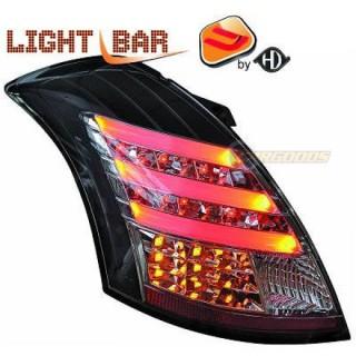 LED Achterlichten Suzuki Swift - Zwart/Smoke