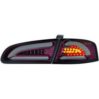 LED Achterlichten Seat Ibiza 6L - Rood/Smoke