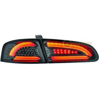 LED Achterlichten Seat Ibiza 6L - Zwart/Smoke
