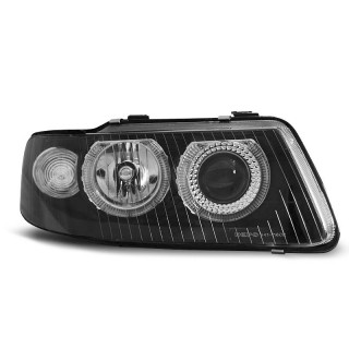 Angel Eyes Koplampen AUDI A3 8L - Zwart