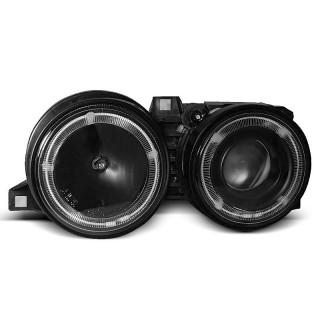 CCFL Angel Eyes Koplampen Bmw 3-Serie E30   - Zwart