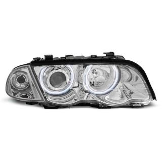 CCFL Angel Eyes Koplampen Bmw 3-Serie E46  Sedan/Touring  - Chroom