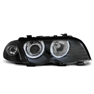 CCFL Angel Eyes Koplampen Bmw 3-Serie E46  Sedan/Touring  - Zwart