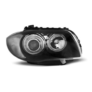 Angel Eyes Koplampen Bmw 1-Serie E87/E81 - Zwart