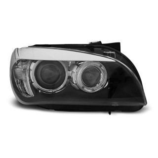 Angel Eyes Koplampen Bmw X1 E84 - Zwart