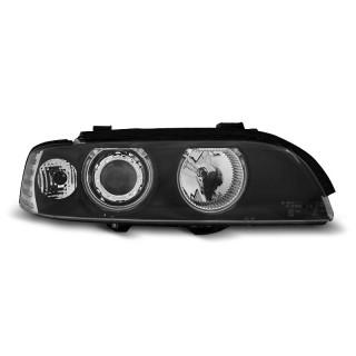 CCFL Angel Eyes Koplampen Bmw 5-Serie E39   - Zwart