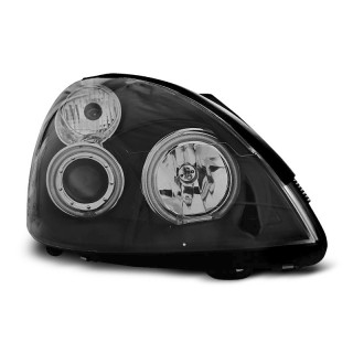CCFL Angel Eyes Koplampen RENAULT CLIO 2   - Zwart