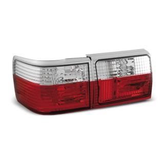 Achterlichten Audi 80 B3 Sedan, 80 B4 Avant - Rood/Wit