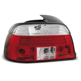 Achterlichten Bmw 5-Serie E39 Sedan - Rood/Wit
