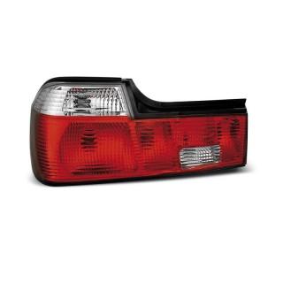 Achterlichten Bmw 7-Serie E32 Sedan - Rood/Wit