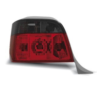 Achterlichten Bmw 3-Serie E36 Touring - Rood/Smoke