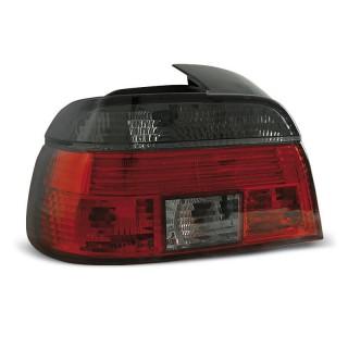 Achterlichten Bmw 5-Serie E39 Sedan - Rood/Smoke