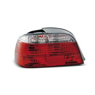 Achterlichten Bmw 7-Serie E38 Sedan - Rood/Wit