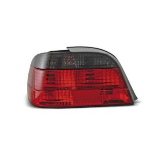 Achterlichten Bmw 7-Serie E38 Sedan - Rood/Smoke