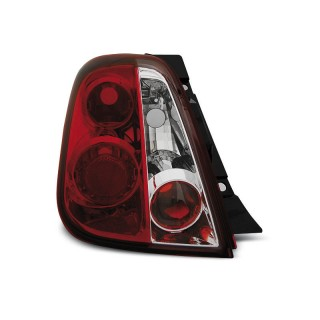 Achterlichten FIAT 500 - Rood/Wit