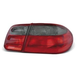 Achterlichten MERCEDES W210 E-Klasse  - Rood/Smoke