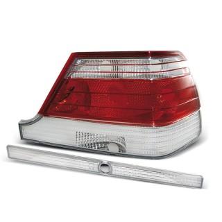 Achterlichten MERCEDES W140  - Rood/Wit