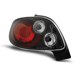 Achterlichten PEUGEOT 206 CC  - Zwart