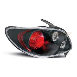 Achterlichten PEUGEOT 206  - Zwart
