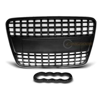 S-Line Look Embleemloze grille AUDI Q7  - Zwart