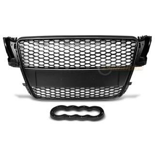 RS-Look Embleemloze grille AUDI A5  - Zwart