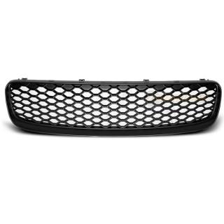 RS-Look Embleemloze grille AUDI TT   - Mat zwart