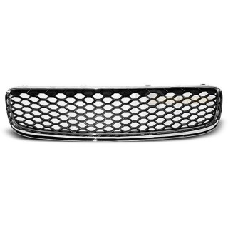 RS-Look Embleemloze grille AUDI TT   - Chroom