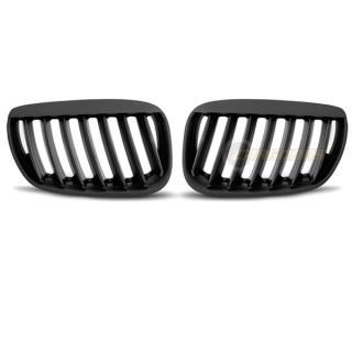 Nieren BMW X5 E53  - Mat zwart