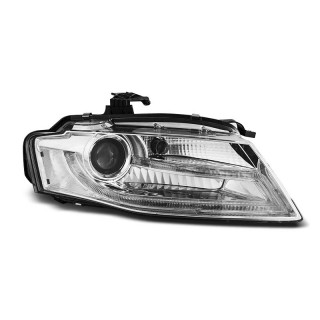 Koplampen met LED Dagrijverlichting AUDI A4 B8 - Chroom