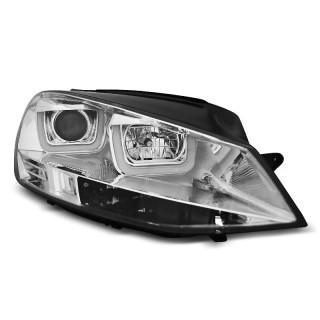 Koplampen met LED Dagrijverlichting VW GOLF 7  - Chroom