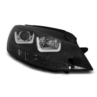 Koplampen met LED Dagrijverlichting VW GOLF 7  - Zwart