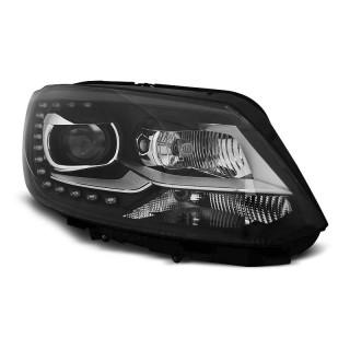 Koplampen met LED Dagrijverlichting VW TOURAN 2- Zwart