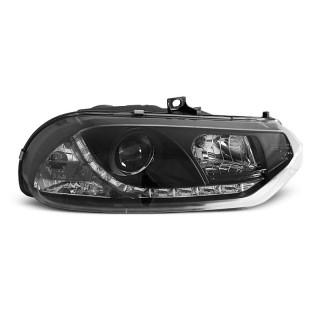 Koplampen met LED verlichting ALFA ROMEO 156  - Zwart