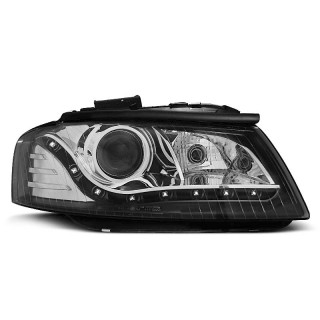 Koplampen met LED verlichting AUDI A3 8P  - Zwart