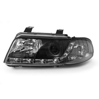 Koplampen met LED verlichting AUDI A4  - Zwart