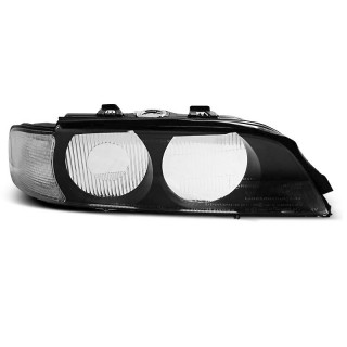 Koplampglas Bmw 5-Serie E39 - Wit knipperlicht