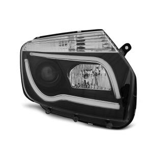 Koplampen met LED verlichting DACIA DUSTER  - Zwart